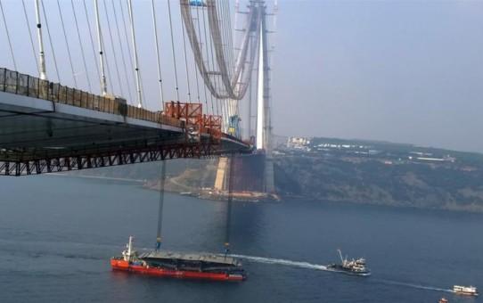 3. Köprü İçin Son 415 Metre